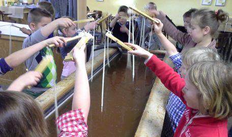 Workshop Kaarsenmakerij